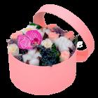 Композиция из цветов Жемчужина в облаках
